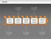 Chevron Timeline Diagram#13