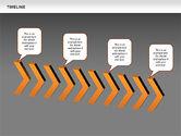 Chevron Timeline Diagram#14