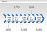 Chevron Timeline Diagram#3