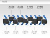 Chevron Timeline Diagram#9