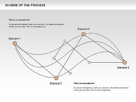 Scheme of Process, Slide 3, 00675, Process Diagrams — PoweredTemplate.com