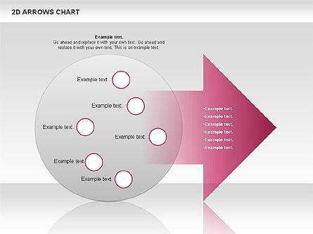 Arrows Efficiency Chart, Slide 10, 00677, Shapes — PoweredTemplate.com