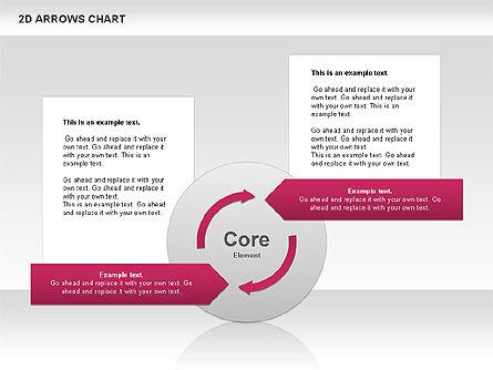 Arrows Efficiency Chart, Slide 11, 00677, Shapes — PoweredTemplate.com