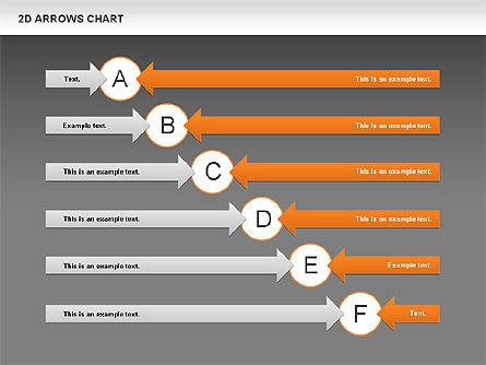 Arrows Efficiency Chart, Slide 12, 00677, Shapes — PoweredTemplate.com