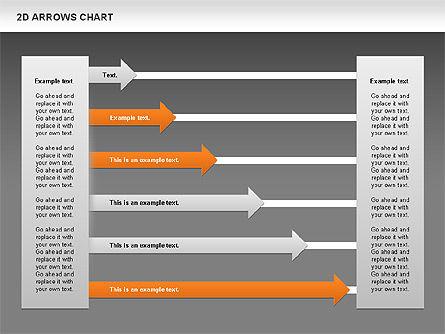 Arrows Efficiency Chart, Slide 13, 00677, Shapes — PoweredTemplate.com