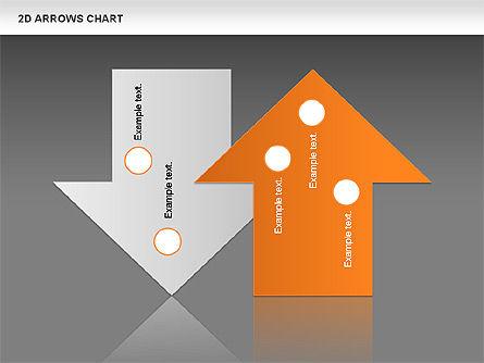 Arrows Efficiency Chart, Slide 15, 00677, Shapes — PoweredTemplate.com