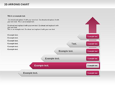 Arrows Efficiency Chart, Slide 5, 00677, Shapes — PoweredTemplate.com