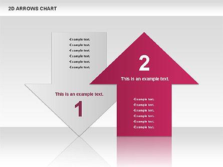 Arrows Efficiency Chart, Slide 6, 00677, Shapes — PoweredTemplate.com