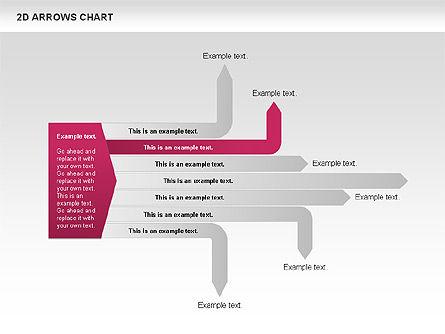 Arrows Efficiency Chart, Slide 7, 00677, Shapes — PoweredTemplate.com