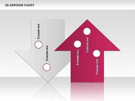 Arrows Efficiency Chart, Slide 8, 00677, Shapes — PoweredTemplate.com