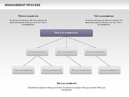 Management Process Flowchart, Slide 4, 00680, Process Diagrams — PoweredTemplate.com