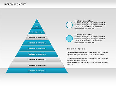 Organizational Charts: Graphique Pyramide #00685