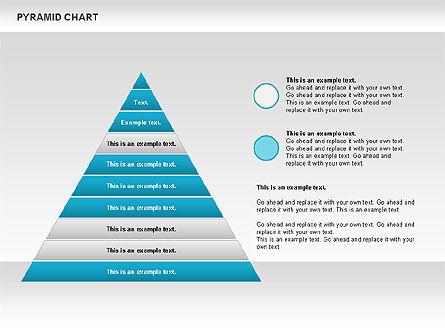Organizational Charts: Pyramid Chart #00685