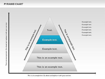 Pyramid Chart, Slide 2, 00685, Organizational Charts — PoweredTemplate.com