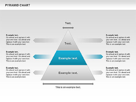 Pyramid Chart, Slide 3, 00685, Organizational Charts — PoweredTemplate.com
