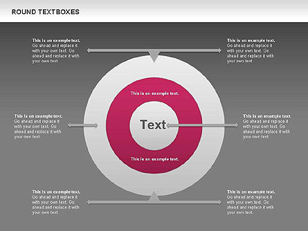 Tables and Text Boxes, Slide 10, 00690, Text Boxes — PoweredTemplate.com