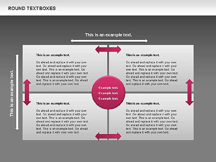 Tables and Text Boxes, Slide 11, 00690, Text Boxes — PoweredTemplate.com