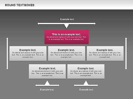 Tables and Text Boxes, Slide 13, 00690, Text Boxes — PoweredTemplate.com
