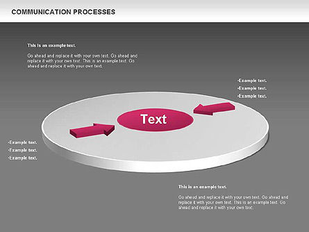 Tables and Text Boxes, Slide 14, 00690, Text Boxes — PoweredTemplate.com