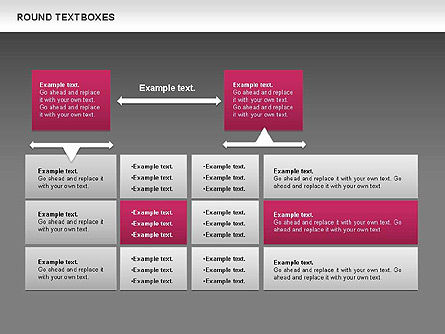Tables and Text Boxes, Slide 15, 00690, Text Boxes — PoweredTemplate.com