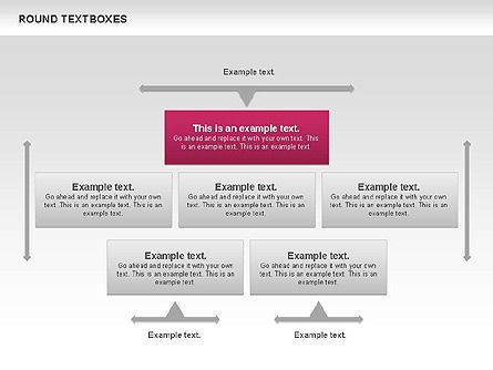 Tables and Text Boxes, Slide 5, 00690, Text Boxes — PoweredTemplate.com