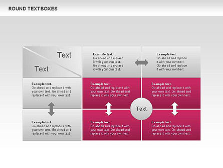Tables and Text Boxes, Slide 8, 00690, Text Boxes — PoweredTemplate.com