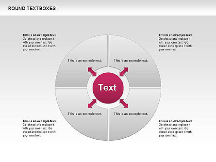 Tables and Text Boxes, Slide 9, 00690, Text Boxes — PoweredTemplate.com
