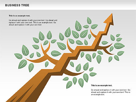 Business Tree Stage Diagram, Slide 6, 00692, Stage Diagrams — PoweredTemplate.com