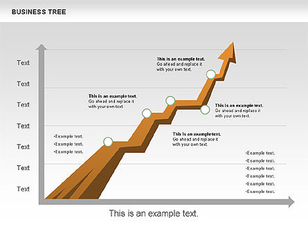 Business Tree Stage Diagram, Slide 7, 00692, Stage Diagrams — PoweredTemplate.com