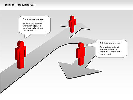 Shapes: Direction Arrows #00696