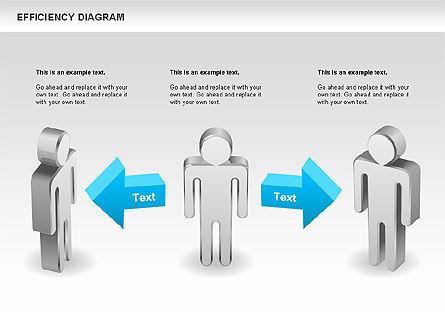 Efficiency Diagram, Slide 2, 00697, Business Models — PoweredTemplate.com