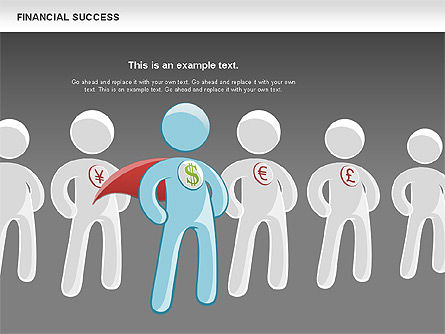 Financial Success, Slide 11, 00698, Business Models — PoweredTemplate.com