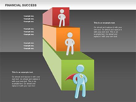 Financial Success, Slide 14, 00698, Business Models — PoweredTemplate.com