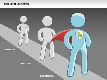 Financial Success, Slide 16, 00698, Business Models — PoweredTemplate.com