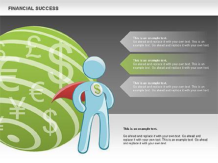 Financial Success, Slide 17, 00698, Business Models — PoweredTemplate.com