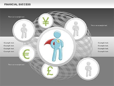 Financial Success, Slide 18, 00698, Business Models — PoweredTemplate.com