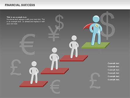 Financial Success, Slide 19, 00698, Business Models — PoweredTemplate.com