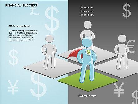 Financial Success, Slide 20, 00698, Business Models — PoweredTemplate.com