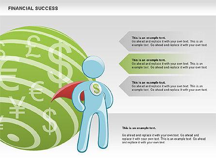 Financial Success, Slide 5, 00698, Business Models — PoweredTemplate.com