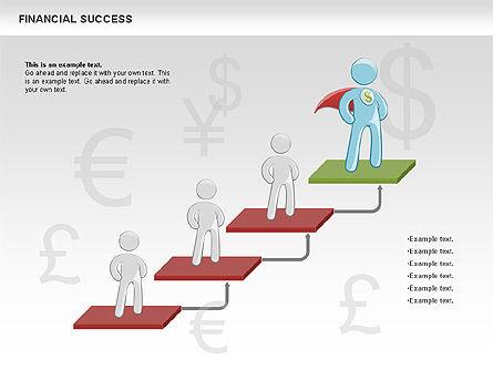 Financial Success, Slide 6, 00698, Business Models — PoweredTemplate.com