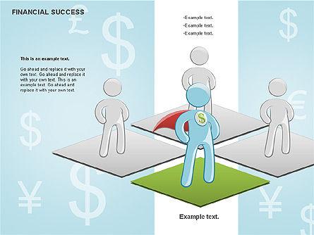 Financial Success, Slide 9, 00698, Business Models — PoweredTemplate.com