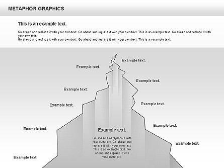 Metaphor Graphics, Slide 10, 00710, Shapes — PoweredTemplate.com