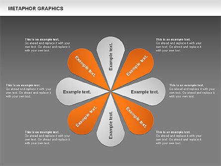 Metaphor Graphics, Slide 11, 00710, Shapes — PoweredTemplate.com