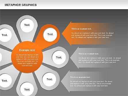 Metaphor Graphics, Slide 13, 00710, Shapes — PoweredTemplate.com