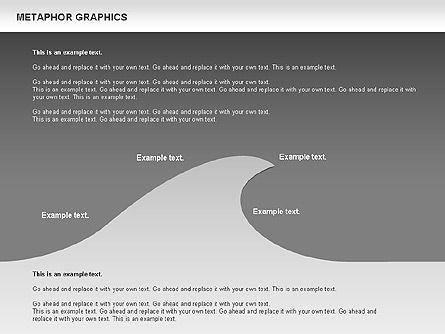 Metaphor Graphics, Slide 14, 00710, Shapes — PoweredTemplate.com