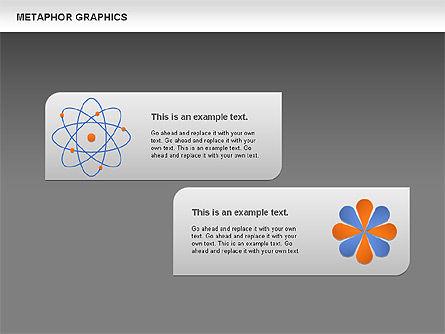 Metaphor Graphics, Slide 15, 00710, Shapes — PoweredTemplate.com