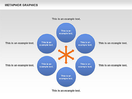 Metaphor Graphics, Slide 3, 00710, Shapes — PoweredTemplate.com