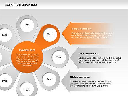 Metaphor Graphics, Slide 4, 00710, Shapes — PoweredTemplate.com