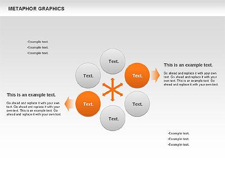 Metaphor Graphics, Slide 6, 00710, Shapes — PoweredTemplate.com