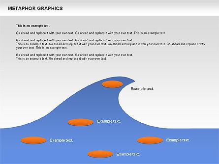 Metaphor Graphics, Slide 8, 00710, Shapes — PoweredTemplate.com